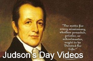 Bicentennial Celebration Worship Service of Adoniram Judson